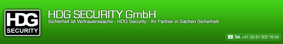 HDG – Sicherheit ist Vertrauenssache Logo